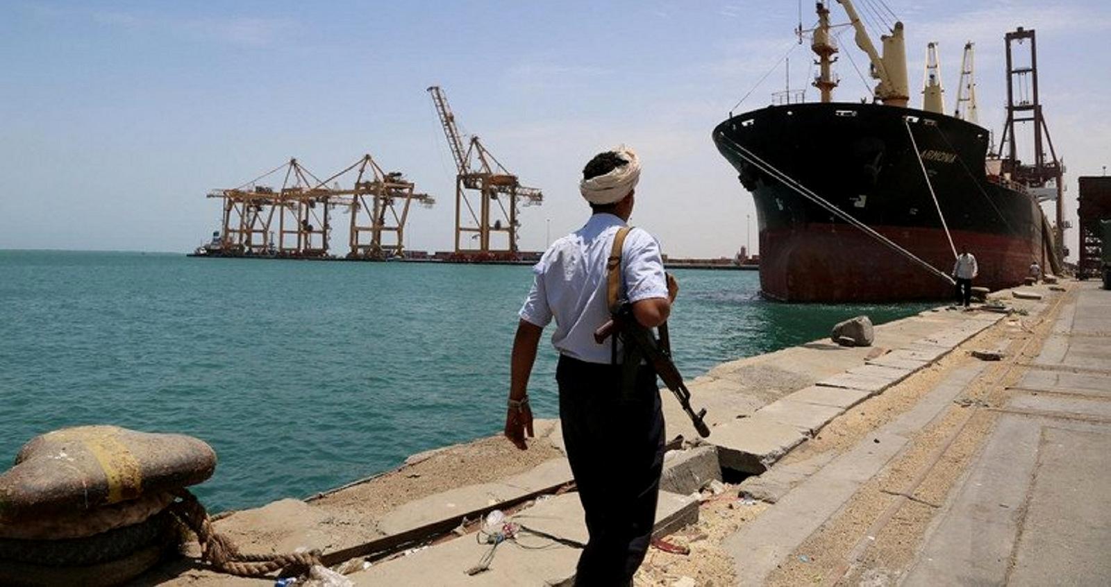 Il porto della città yemenita Hodeidah