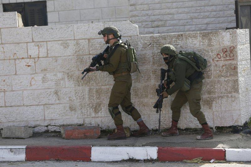 Soldati israeliani in Cisgiordania