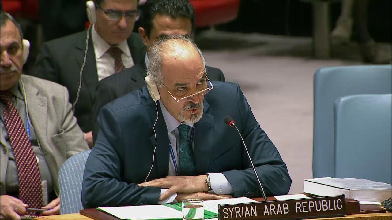 L'ambasciatore siriano all'Onu Bashar Jaafari