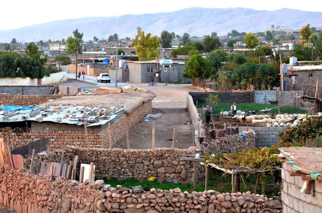Il campo profughi di Makhmour (Foto: Mirca Garuti)