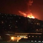 SIRIA. Raid israeliani dopo un missile lanciato dal Golan