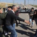 """PALESTINA/ISRAELE. Bloccata dalle proteste """"la strada dell'apartheid"""""""