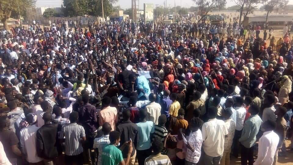 Manifestazione anti-governativa a Khartoum