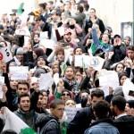 ALGERIA. Studenti in piazza contro Bouteflika