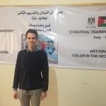 GAZA. Arrivato lo studente italiano del progetto Erasmus +