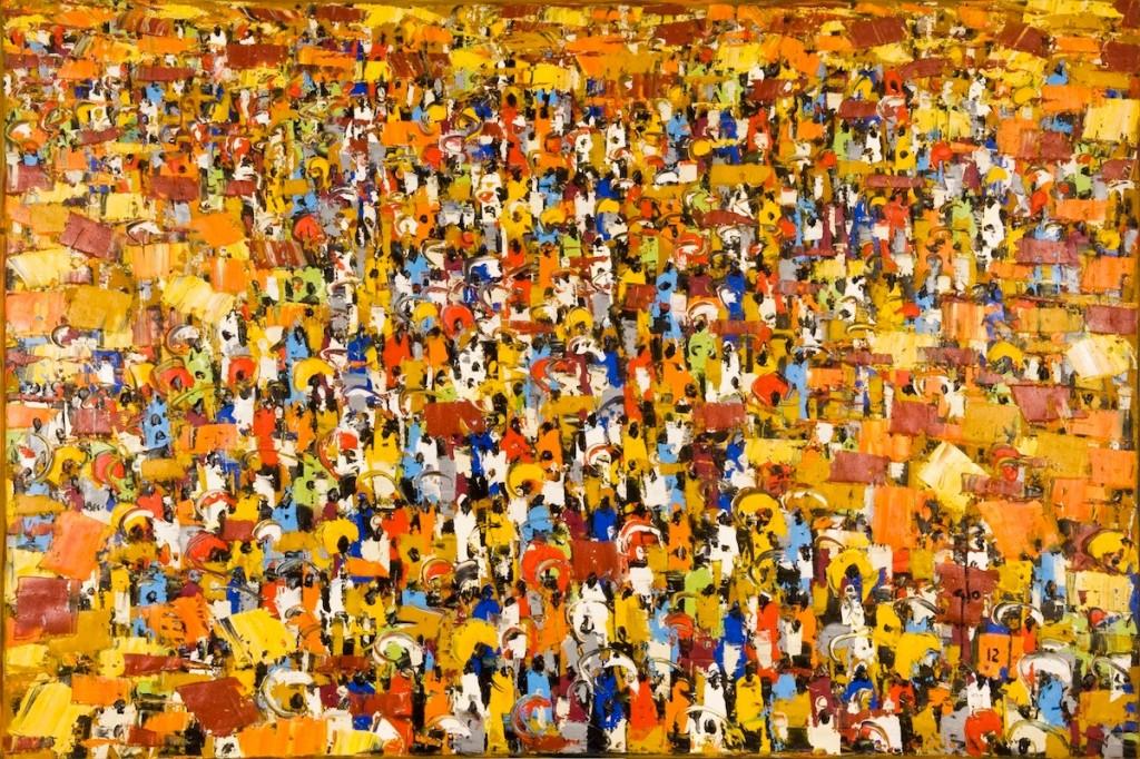 Un lavoro dell'artista ghanese Ablade Glover