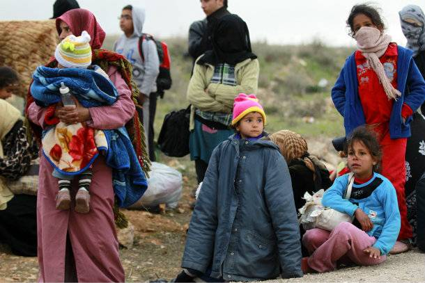 Rifugiati siriani (Foto: Reuters)