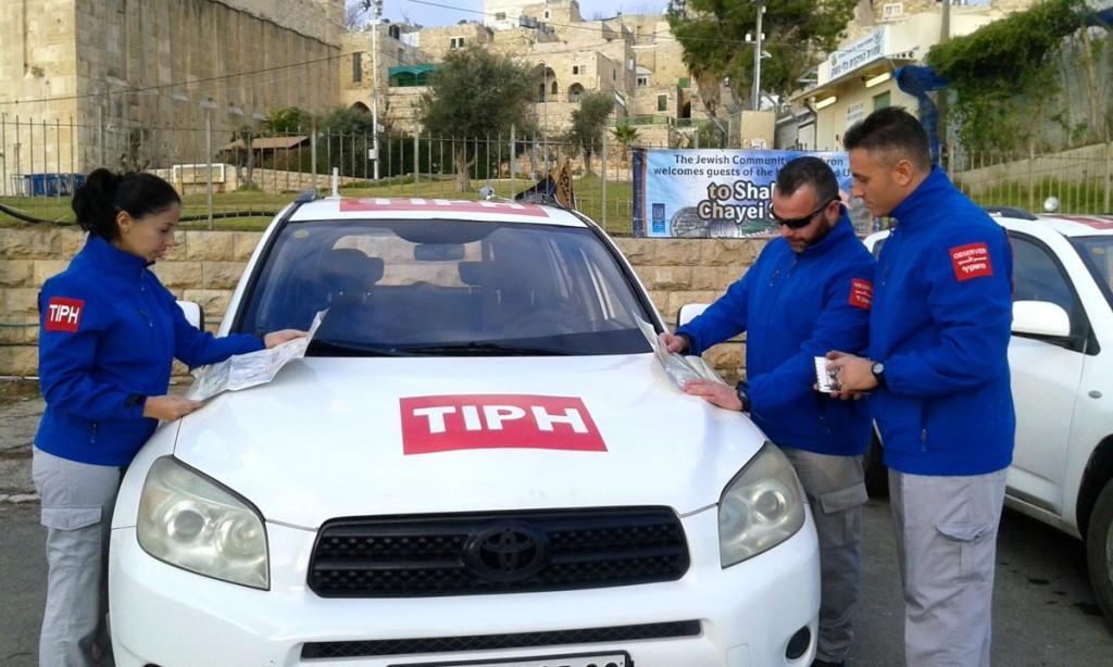 Osservatori della Tiph a Hebron