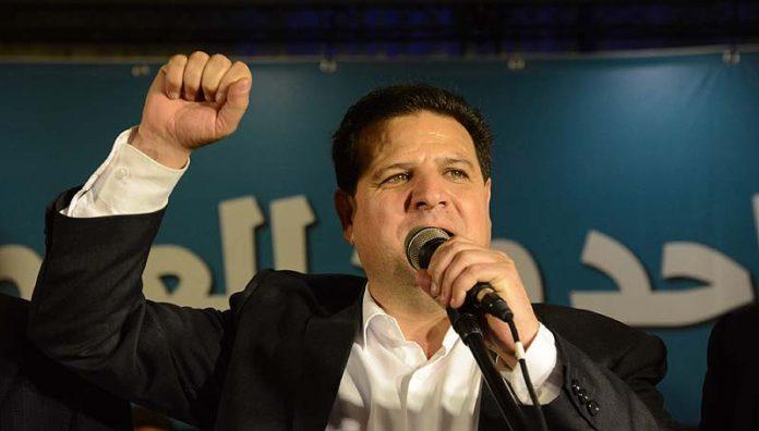 Il leader del partito Hadash, Ayman Odeh  (foto di Basel Awidat / Flash 90)