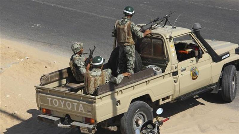 Soldati egiziani in Sinai