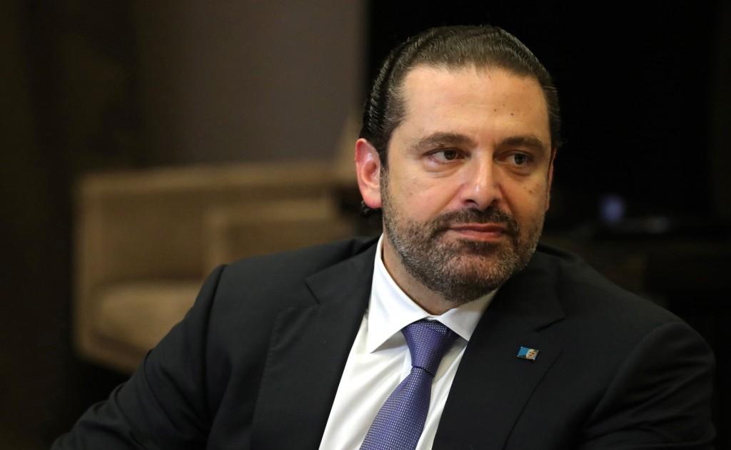 Il primo ministro libanese Hariri
