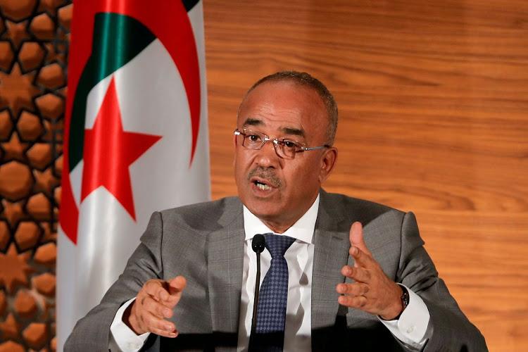 Il neo premier Bedoui