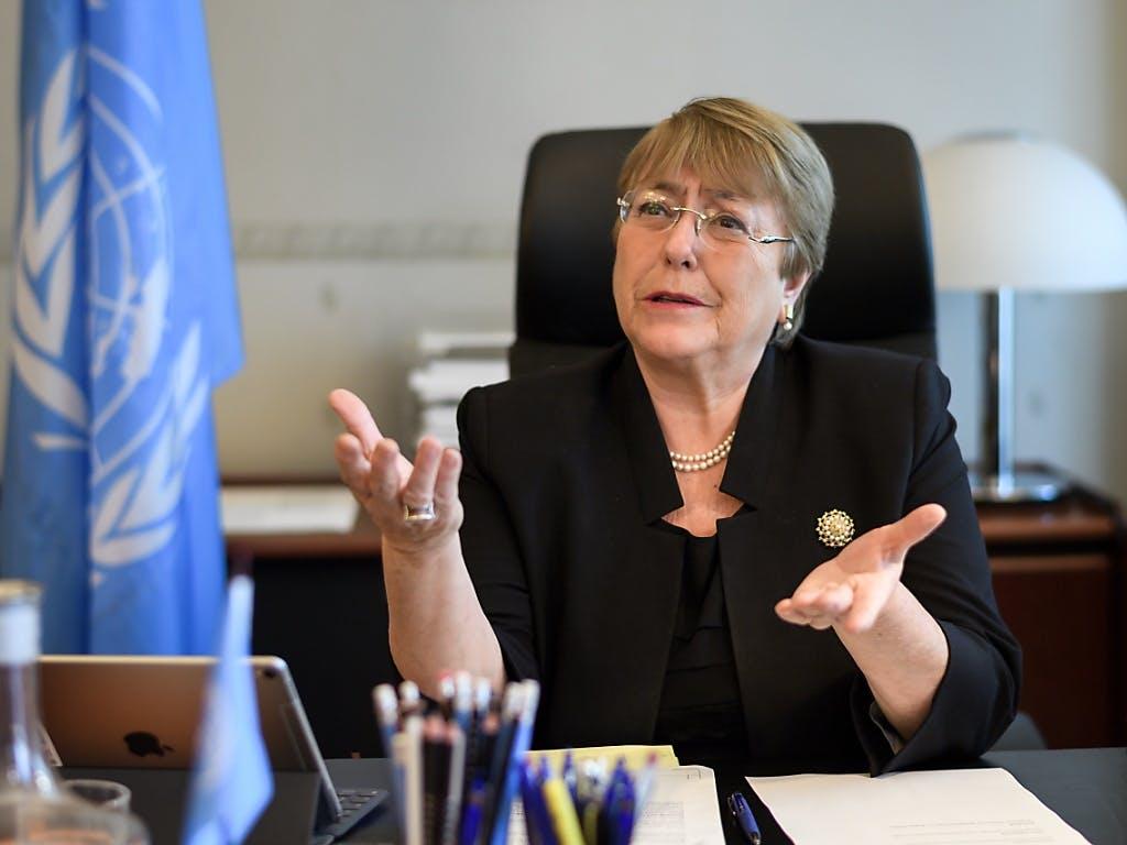L'Alta Commissaria dell'Onu per i diritti umani Bachelet