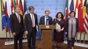 Il rappresentante belga all'Onu ieri