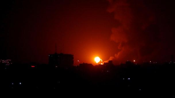 Raid israeliani sulla Striscia di Gaza (Foto: Haaretz)