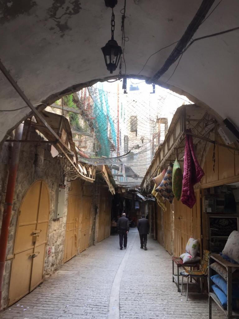 La città vecchia di Hebron (foto di Shady Giorgio)
