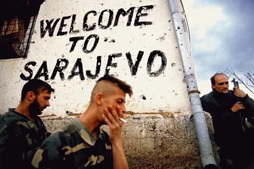 Sarajevo sotto assedio nel 1994