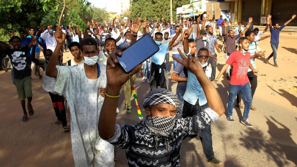 Proteste in Sudan (Foto: Reuters)