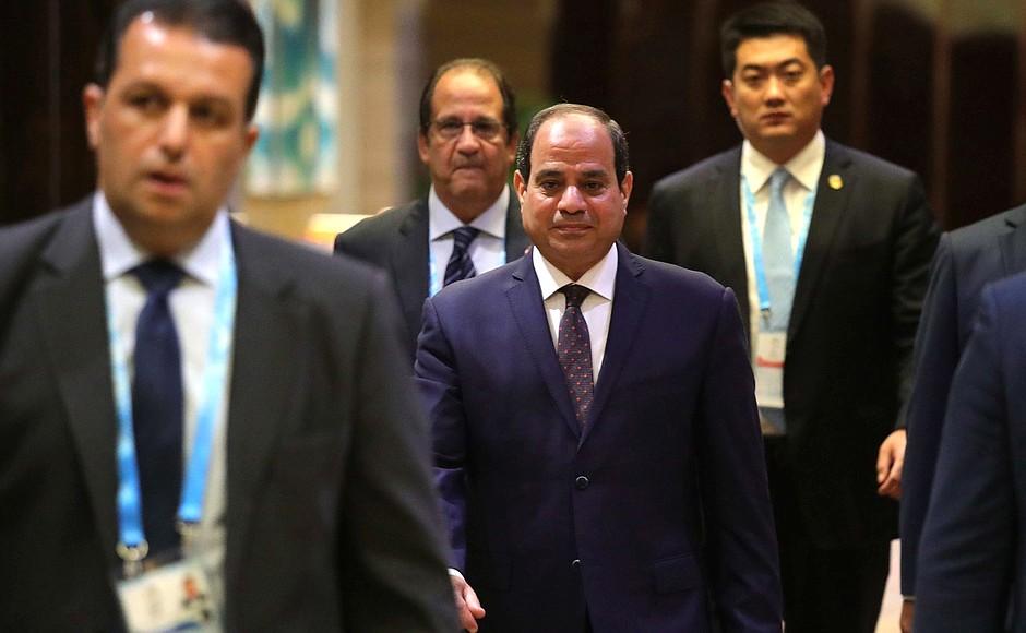 Il presidente egiziano al-Sisi (Foto: Cremlino)