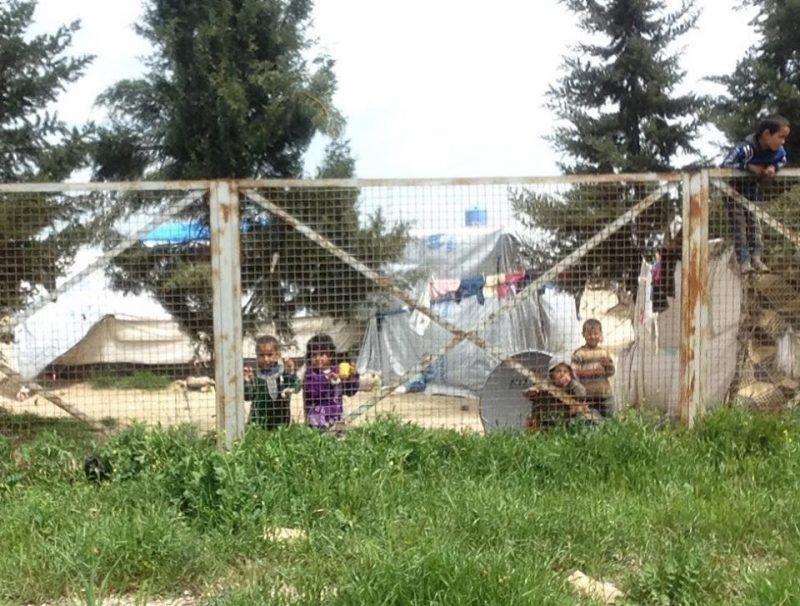 Il campo di Ain Issa (foto di Nassi LaRage)