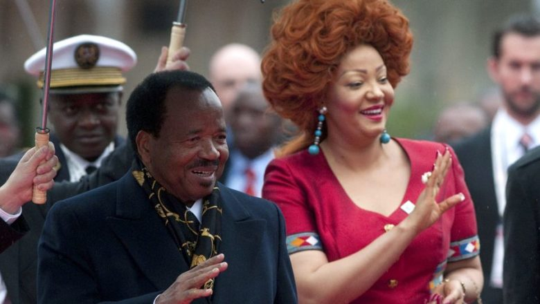 Chantal e Paul Biya