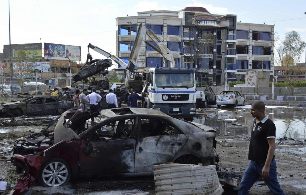 Attentato in Iraq nel 2014 (Foto: Reuters)