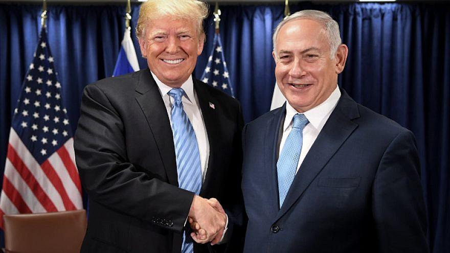 Donald Trump e Benyamin Netanyahu (foto di Avi Ohayon/GPO)