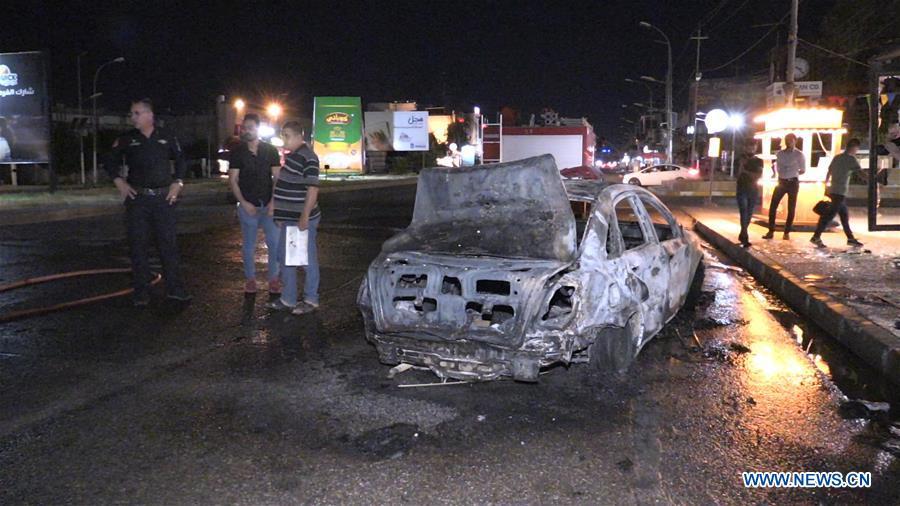 Attentati ieri notte a Kirkuk  (Fonte: www.news.cn)