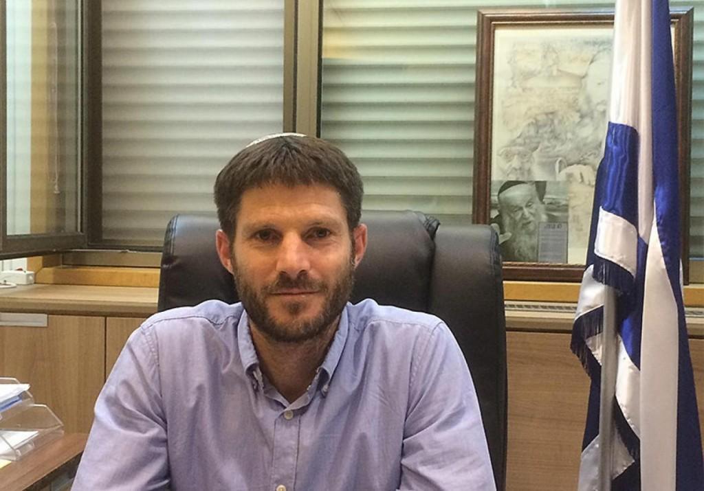 Il parlamentare Bezalel Smotrich