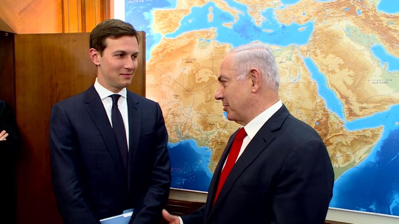 Jared Kushner con Benjamin Netanyahu