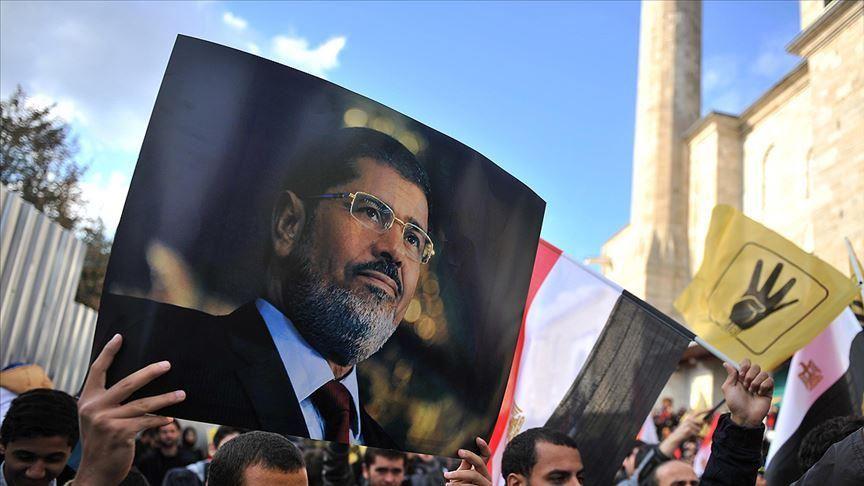 La commemorazione per Morsi a Istanbul (Fonte: Anadolu Agency)