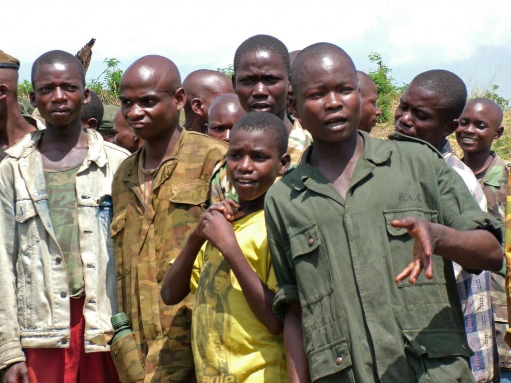 Bambini soldato nella Rdc. foto Wikimedia Commons