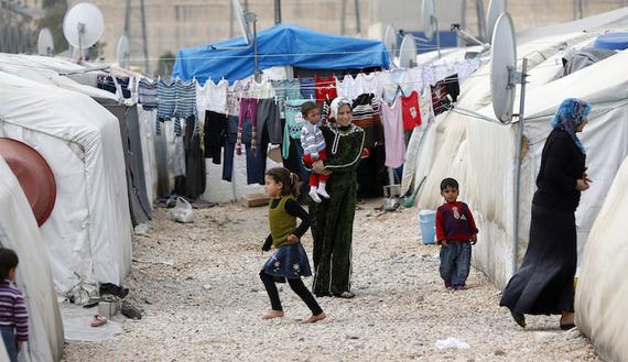 Rifugiati siriani a Gaziantep, vicino alla Siria