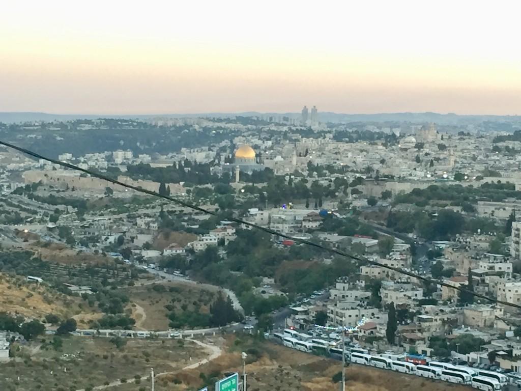 Gerusalemme. La Cupola della Roccia sulla Spianata di al Aqsa (foto di Michele Giorgio)
