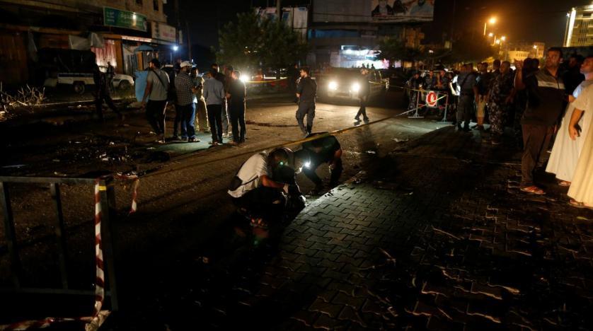 Uno dei luoghi degli attentati a Gaza attribuiti a gruppi salafiti (Foto: Reuters)