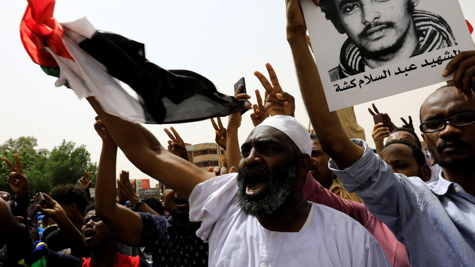 Proteste in Sudan (Foto: al Jazeera)