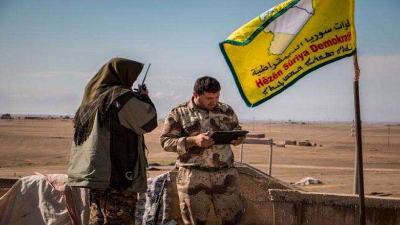 Combattenti delle Sdf (Foto: Reuters/Rodi Said)