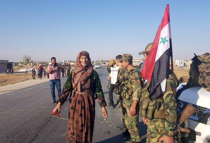 Esercito siriano (Foto: Reuters)