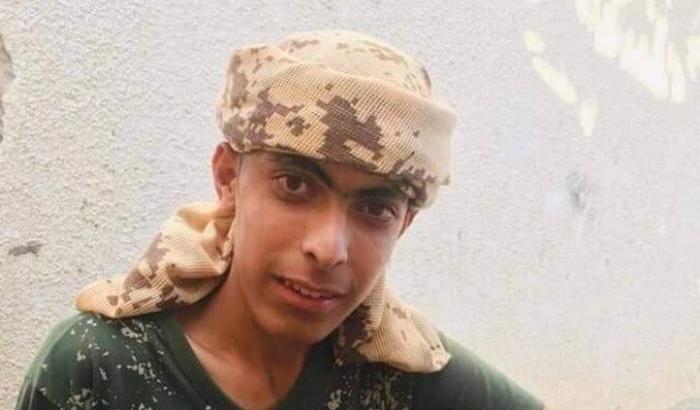 Fahad al Astal, il 16enne ucciso ieri a Gaza dai soldati israeliani