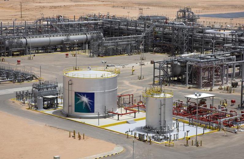 Un impianto petrolifero della Aramco (Fonte: argaam.com)
