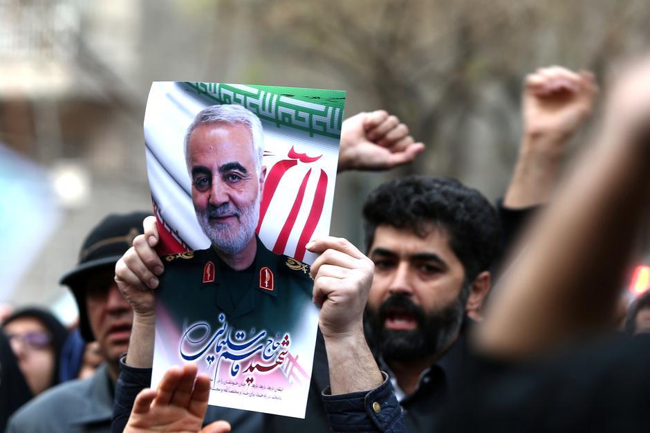 Il generale Suleimani (Foto: Reuters)
