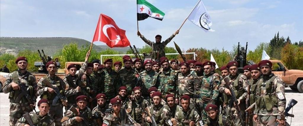 Mercenari dell'ENS (foto di Anadolu Agency)