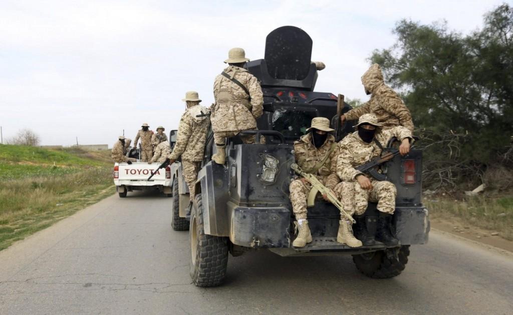 Libia. Soldati Haftar