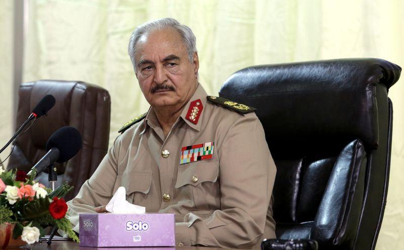 Il Generale Haftar (Foto: Reuters)