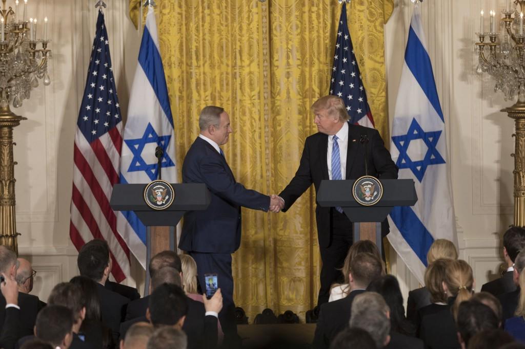 Il premier israeliano Netanyahu e il presidente statunitense Trump a Washington (Foto: Casa Bianca)
