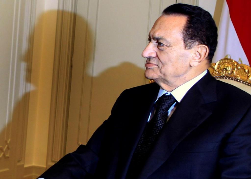 L'ex presidente egiziano Mubarak (Foto: Reuters)