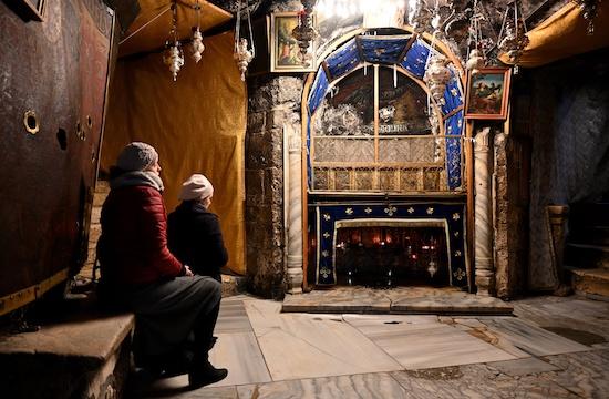 La chiesa della Natività (foto EPA/NEIL HALL/MaxPPP)