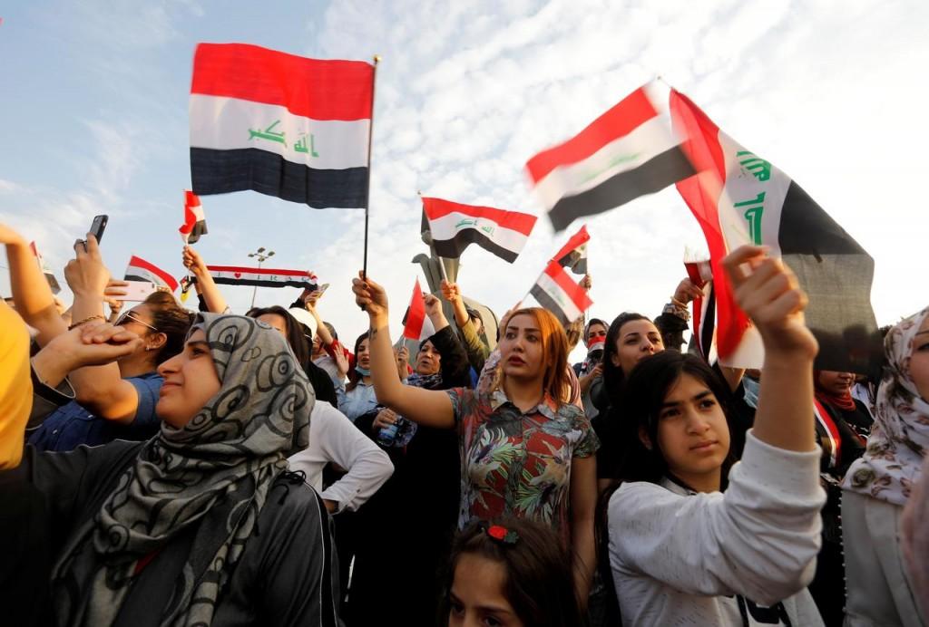 Proteste in Iraq (Foto: Reuters)