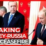 SIRIA. Turchia-Russia: cessate il fuoco a Idlib