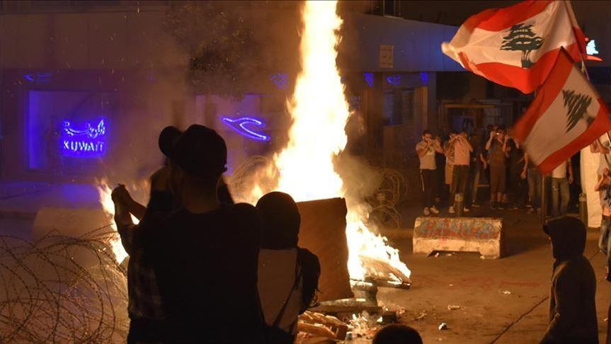 Proteste a Tripoli (Foto tratta dall'agenzia Anadolu)